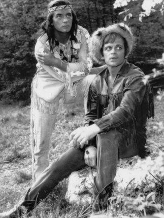 Kinski ve filmu Vinnetou Rudý gentleman