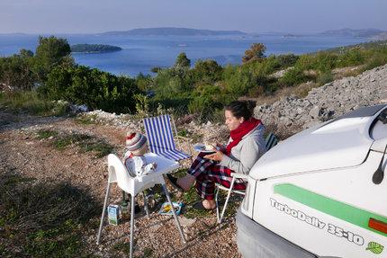 Snídaně v Chorvatsku