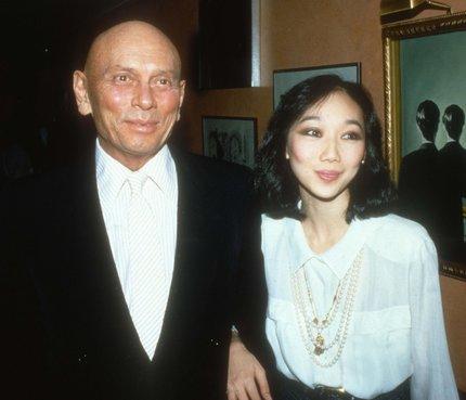 Yul Brynner se svou čtvrtou ženou