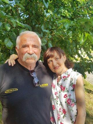 Alena s manželem