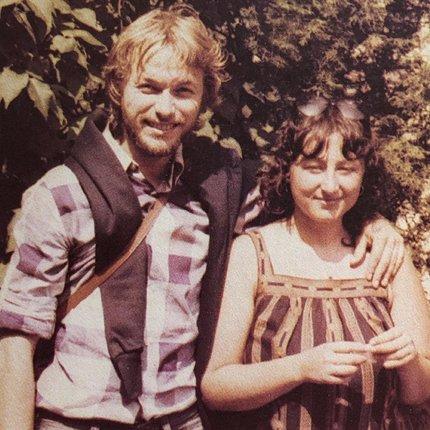 V mládí s manželem