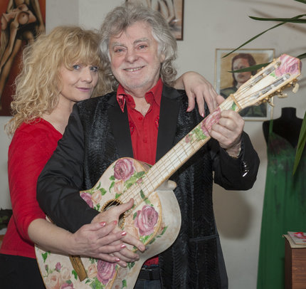 Jindřich Kraus s manželkou