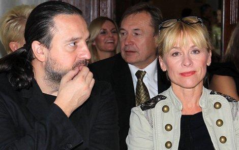 Dana Batulková s přítelem Ondřejem Zajícem.
