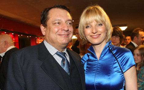 Jiří a Petra Paroubkovi.
