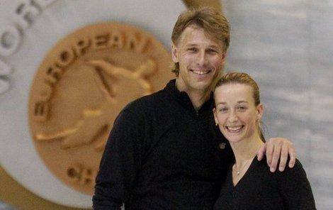 Krasobruslařští šampioni Kovaříková a Novotný byli čtrnáct let manželé.