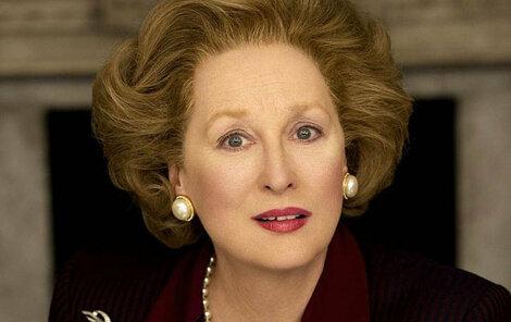 Meryl Streep v roli »Železné lady«