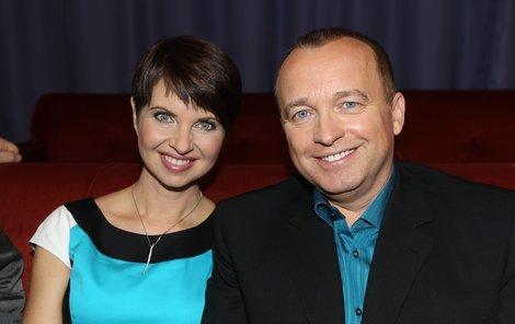Markéta Fialová s Karlem Voříškem.