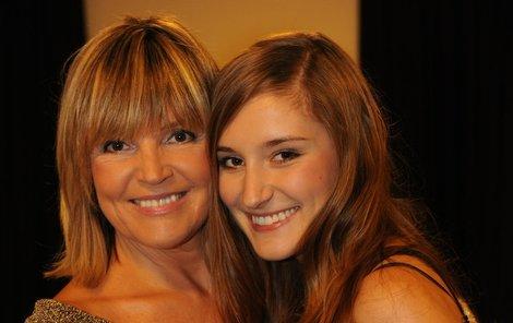 Věra Martinová se svou překrásnou dcerou Anežkou.