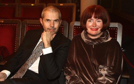 Markéta Fišerová a Marek Eben tvořili ukázkový pár. I když byli zmítaní těžkým osudem.