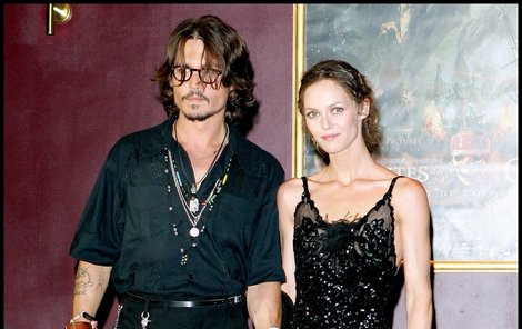 Johnny Depp a Vanessa Paradis - jejich vztah skončil krachem!
