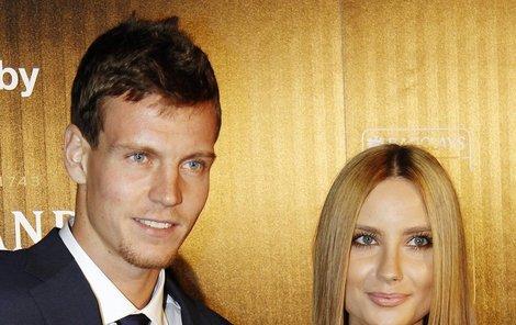 V anketách o nejpůvabnější partnerku tenistů se Berdychova Ester umisťuje na nejvyšších příčkách.