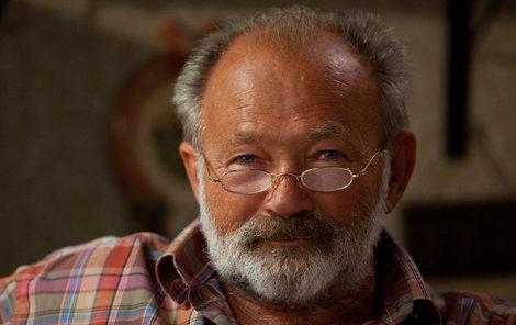 Rudolf Hrušínský prozradil, kolik má důchod.