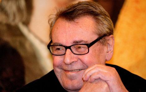 Miloš Forman oslavil své 84. narozeniny v klidu domova.