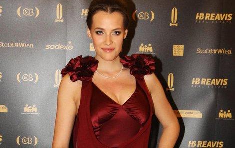 Modelka Kateřina Sokolová.