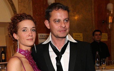Filip Renč s přítelkyní Kristýnou.