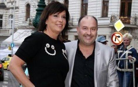 Michal David s manželkou Marcelou