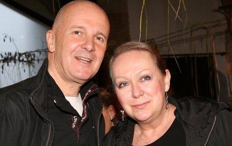Nerozlučný pár - Ondřej Soukup a Gábina Osvaldová.