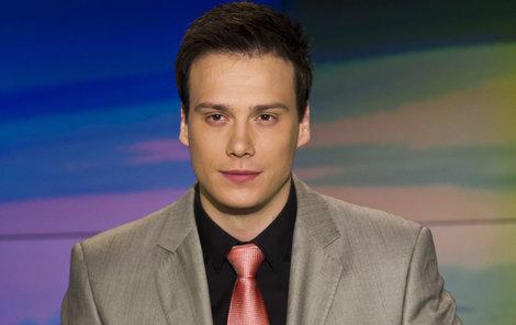 Suchoň moderuje Televizní noviny na Nově už tři roky.