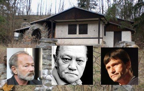 Chata po Rudolfu Hrušínském je na prodej