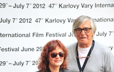 Susan Sarandon s Jiřím Bartoškou