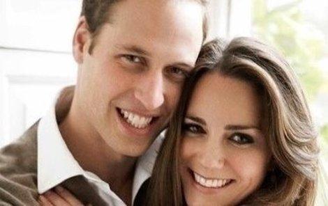 Princ William a jeho Kate.