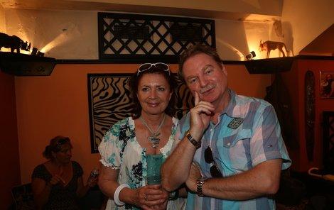 Petr Jančařík s manželkou