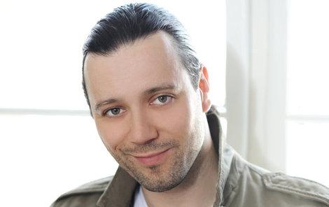 Herec a moderátor Michal Kavalčík