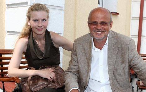 S Michalem Horáčkem se poznali před pěti lety, jiskra přeskočila o dva roky později.