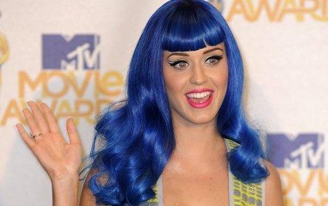 Katy Perry věří v mimozemšťany.