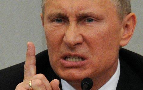 Vladimir Putin uplatnil mnohem tvrdší protisankce, než se čekalo.