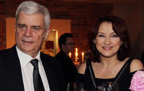 Zlata Adamovská a Petr Štěpánek jsou stále velmi zamilování.