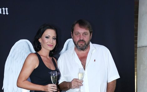 Gábina Partyšová s Josefem Koktou.
