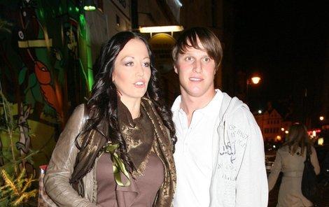 Agáta Hanychová s Mirkem Dopitou.