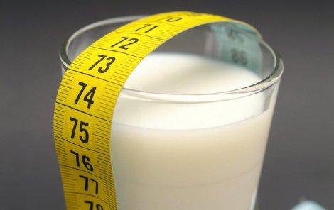 Mléko dokáže pomoci při hubnutí.