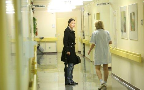 Michaela Jílková trpí bolestmi