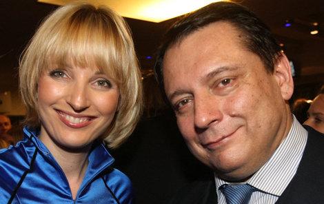 Jiří Paroubek s Petrou Paroubkovou.
