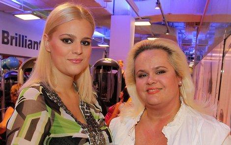 Ornella Štiková s maminkou.