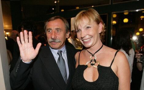 Pavel Zedníček s Hankou Kousalovou