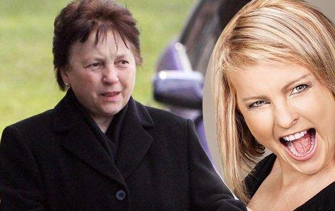 Matka Ivety Bartošové je pořádně smutná.
