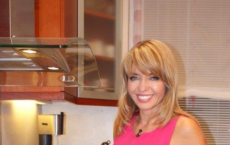 Pavlína Danková v kuchyni