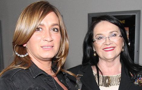 Rola Brzobohatá s maminkou Hanou Gregorovou!