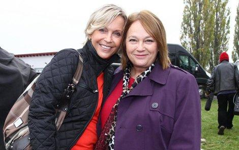 Míla Šplechtová a Jitkou Smutnou