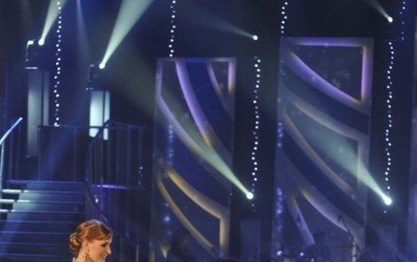 Hokejista Procházka bruslil na tanečním parketu skvěle. S partnerkou Terezou Bufkovou dostali nejvíce bodů.