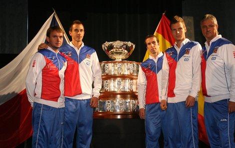 Mise začíná. Česká parta Minář, Rosol, Štěpánek, Berdych a kapitán Navrátil chtějí získat Davis Cup!