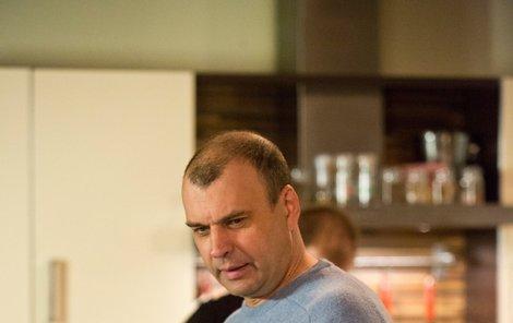 První natáčení po infarktu. Petr Rychlý to zvládl.