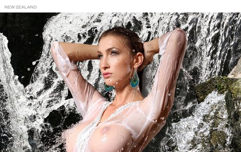 Dominika Mesárošová (27), modelka  Kalendář Dominika Mesárošová