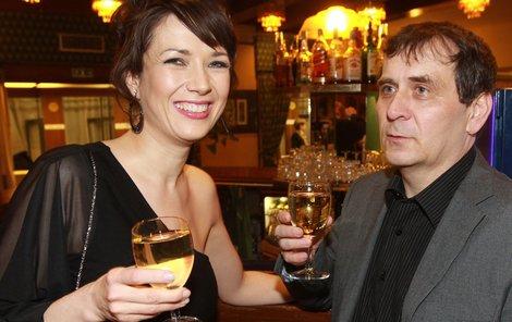 Tereza Kostková s Petrem Kracikem
