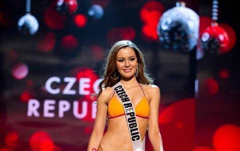 Úřadující Česká Miss Tereza Chlebovská se právě v Las Vegas na světová finále Miss Universe.