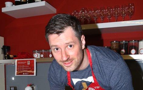 Petr Vágner (35), moderátor
