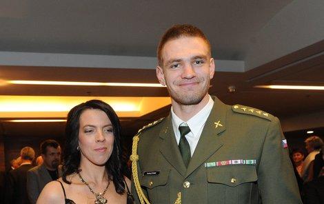 Ondřej Synek s manželkou Pavlou vypadali jako harmonický pár.